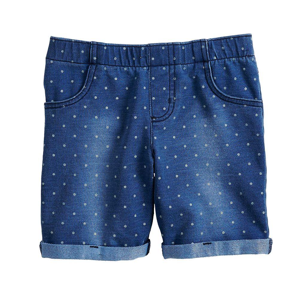 Girls 4-12 Jumping Beans® Polka-Dot Midi Jegging Shorts