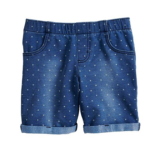 Girls 4-12 Jumping Beans® Polka-Dot Midi Jegging Shorts