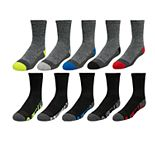 Boys 8-20 Tek Gear® Lightweight 10-Pack Crew Socks