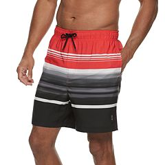 Men's Free Country Striped Swim Shorts