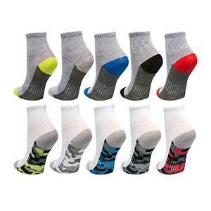 Boys 4-20 Tek Gear® Lightweight Quarter-Crew Sock