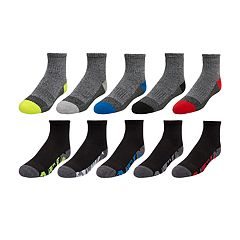 Boys 4-20 Tek Gear® Lightweight Quarter-Crew Sock