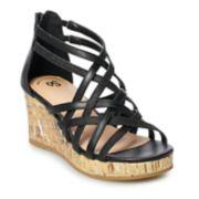 SO® Ferry Girls' Wedge Sandals