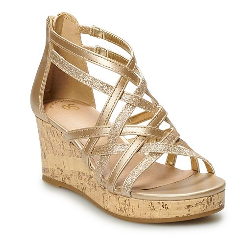 SO® Ferry Girls' Wedge Sandals