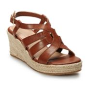 SO® Jonna Girls' Espadrille Wedge Sandals