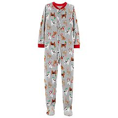 Boys 4-8 Carter's Christmas Dogs 1-Piece Pajamas