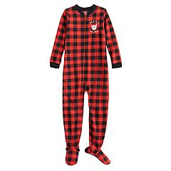 Boys 4-8 Carter's Santa's Little Helper One-Piece Fleece Pajama