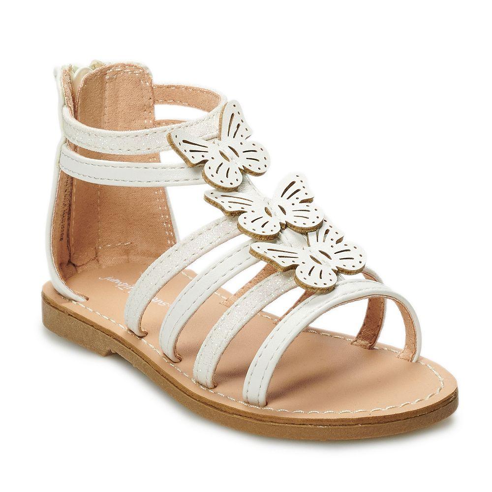 Jumping Beans Butterflies Toddler Girls' Gladiator Sandals