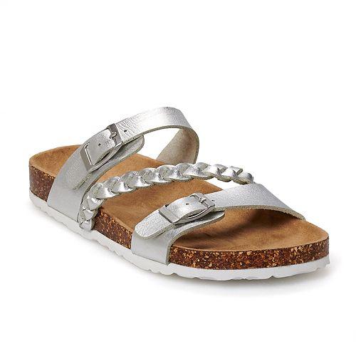 SO Girls' Fashion Slide Sandals