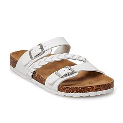 SO Girls' Fashion Slide Sandals
