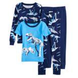 Boys Carter's Dinosaur 4-Piece Pajama Set
