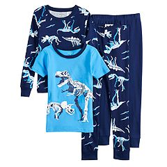 Boys Carter's Dinosaur 4-Piece Pajama Set