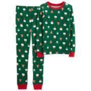 Boys 4-12 Carter's Christmas 2-Piece Pajama Set