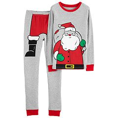 Boys 4-14 Carter's Santa 2-Piece Pajama Set