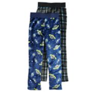 Boys 4-20 Jellifish Space 2-Pack Sleep Pants