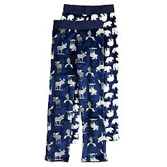 Boys 4-20 Up-Late Moose 2-pack Sleep Pants