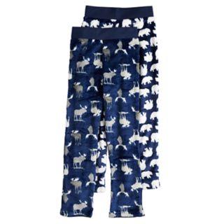 Boys 4-20 Up-Late Moose 2-pack Sleep Pants