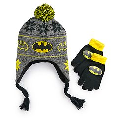 Boys 4-20 Batman Hat Gloves Set