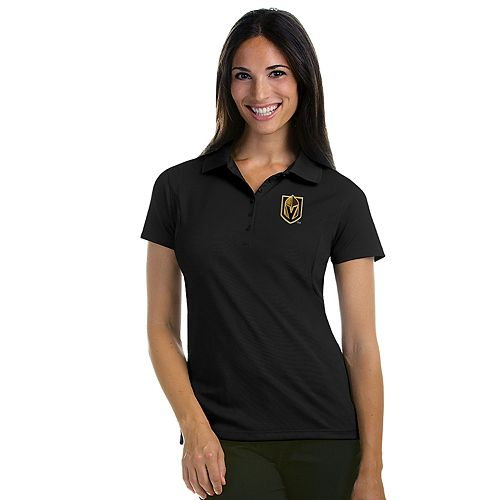Antigua Women's Vegas Golden Knights Pique Xtra Lite Polo