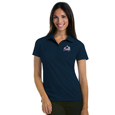 Antigua Women's Colorado Avalanche Pique Xtra Lite Polo