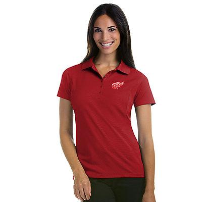 Antigua Women's Detroit Red Wings Pique Xtra Lite Polo