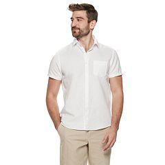 1847978da6 Men s Marc Anthony Slim-Fit Linen-Blend 1-Pocket Button-Down Shirt