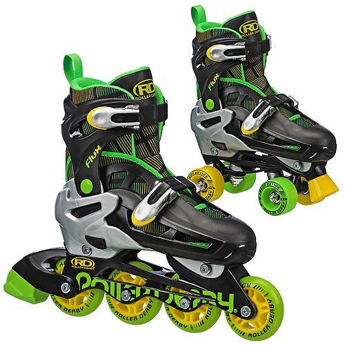 Roller Derby Inline Roller Combo Skates
