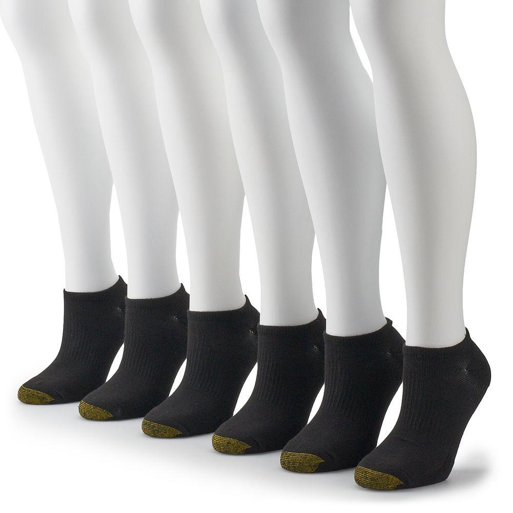 Women's GOLDTOE® 6-pack Cooling No-Show Socks