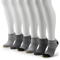 Women's GOLDTOE® 6-pack Cooling No-Show Socks