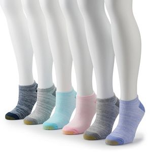 584671780 Women's Under Armour 6-pk. Training No-Show Socks