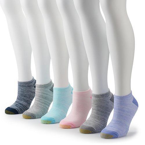 Women's GOLDTOE® 6-pk. Cooling No-Show Socks