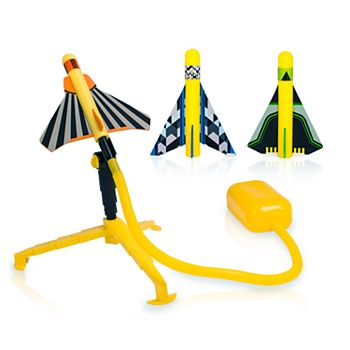 Stomp Rocket Stunt Planes with Launch Pad