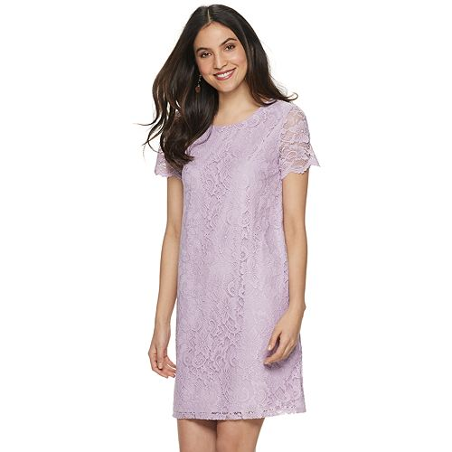 Women's Juicy Couture Lace Shift Dress