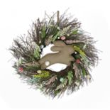 Celebrate Easter Together Berry Bunny Wreath