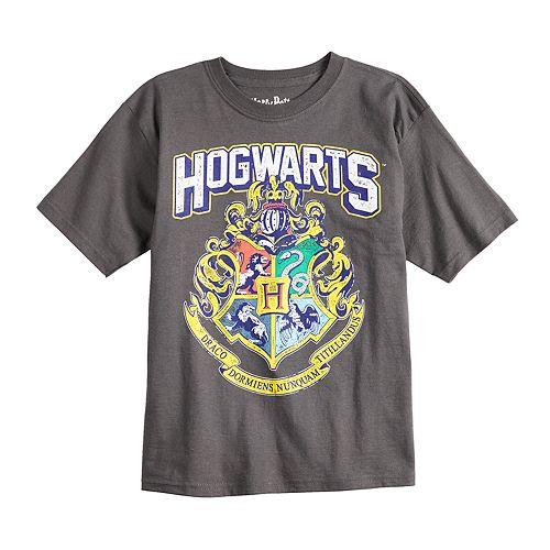 Boys 4-7 Harry Potter Hogwarts Crest Graphic Tee