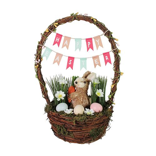 Bunny Basket Table Decor