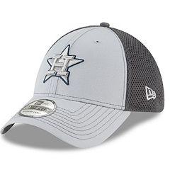 Adult New Era Houston Astros Grayed Out 39THIRTY Flex-Fit Cap