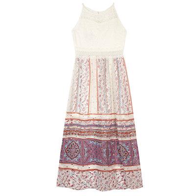 Girls 7-16 IZ Amy Byer Paisley Colorblock Maxi Dress