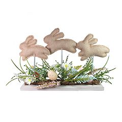 Celebrate Easter Together Bunny Trio Table Decor