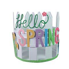 Celebrate Easter Together Hello Spring Candle Holder