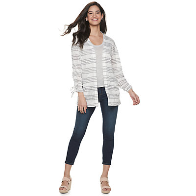 Women's Juicy Couture Cinched Sleeve Cardigan