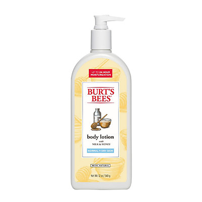 Burt's Bees Naturally Nourishing Milk & Honey Body Lotion