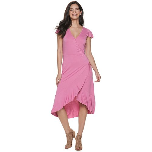 Women's Juicy Couture Faux Wrap Dress