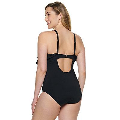 Plus Size Apt. 9® Ruffled One-Piece Swimsuit