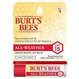 Burt's Bees All-Weather SPF 15 Moisturizing Lip Balm