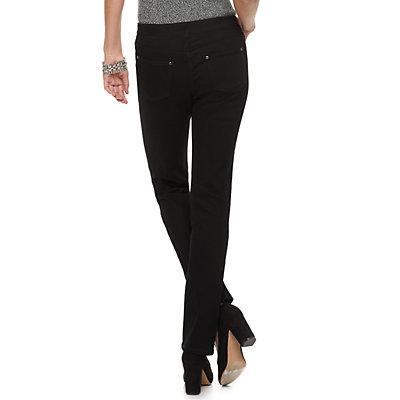 Women's Dana Buchman Pull-On Straight Leg Jeans