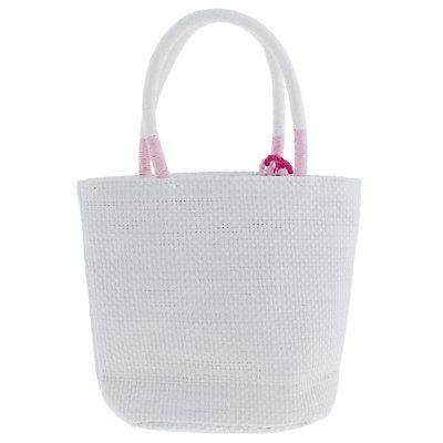 Elli by Capelli Heart Straw Mini Tote Bag