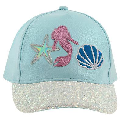 Girls 4-14 Elli by Capelli Mermaid Baseball Cap Hat