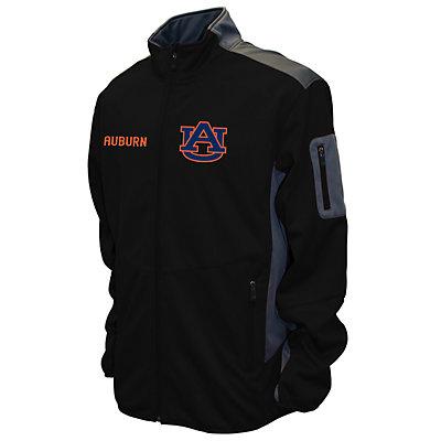 Men's Franchise Club Auburn Tigers Peak Softshell Jacket