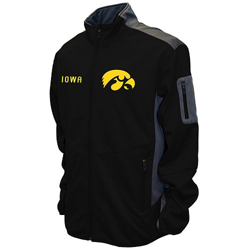 Men's Franchise Club Iowa Hawkeyes Peak Softshell Jacket